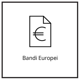Bandi Europei - Bottone Home - Partner Consul